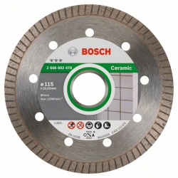Disco de diamante bosch ceramica 115 mm