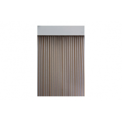 Cortina de puerta cinta 90x210 duero miel cristal