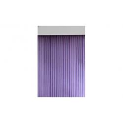 Cortina de puerta cinta 90x210 duero lila cristal