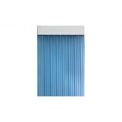 Cortina de puerta cinta 90x210 duero azul cristal