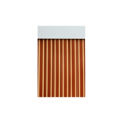 Cortina de puerta cinta 90x210 ebro caramelo beige