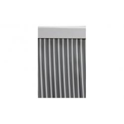 Cortina de puerta cinta 90x210 ebro gris blanco