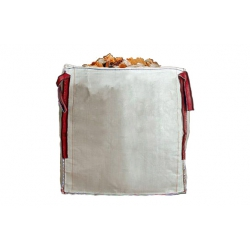 SACO ESCOMBROS BIG BAG 90X90X90 CM BLANCO