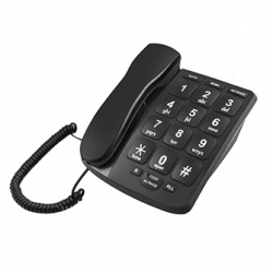 Telefono dect teclas grandes daewoo blanco
