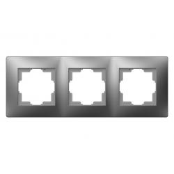 Marco triple habitat15 aluminio