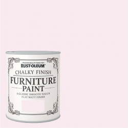 Pintura efecto tiza chalky rosa porcelana