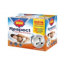 Insecticida electrico respect orion + recambio 45 noches