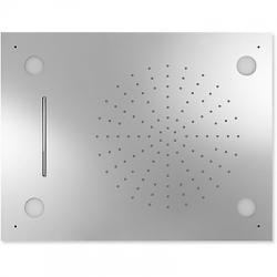Rociador ducha tres exclusive anticalcarea techo cromoterapia 299.972.01