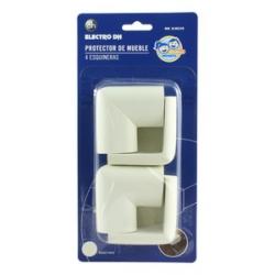 Protector esquinas de muebles 4 unidades blanco