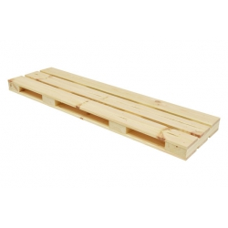 Estante palet natural 60x23.5 cm