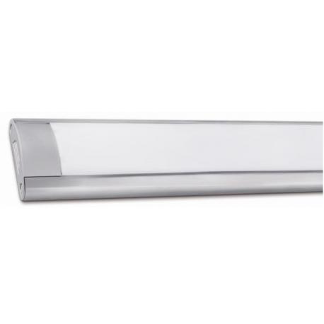 Pantalla led con difusor matel 120 cm 36w luz calida