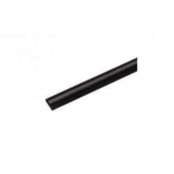 Canaleta semicircular 30x15 1 metro saet 94 negro