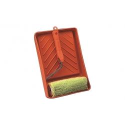 Rodillo hilo verde + cubeta kit