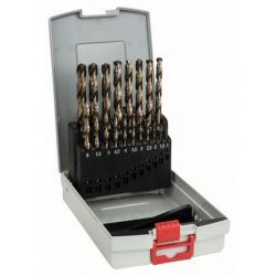 Juego de brocas para metal probox hss-co bosch 19 piezas