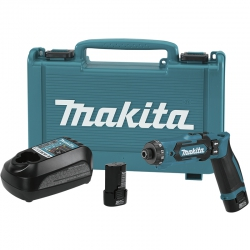 Atornillador recto bateria makita df012dse 7.2v litio-ion