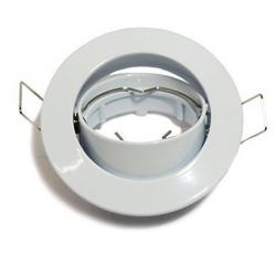 Aro circular basculante blanco