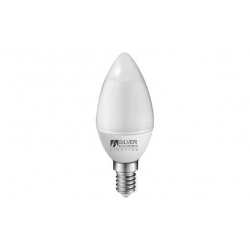 Lampara vela eco led 436lm (pack 4un) e14 5w 3000k