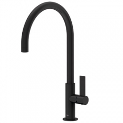 Monomando lavabo project-tres negro mate 21190601nm