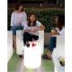 Lampara cilindro bateria luz rgb