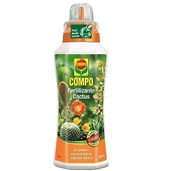 Fertilizante cactus 500 ml compo