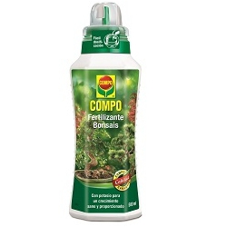 Fertilizante bonsais 500 ml compo