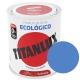 Esmalte al agua ecologico 750 ml titanlux 525 - blanco piedra
