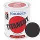 Esmalte al agua ecologico 750 ml titanlux 567 - negro