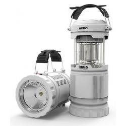 Linterna camping con luz antimosquitos iberoluso 120 lumens