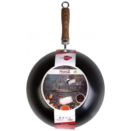 Wok de hierro wecook 28 cm