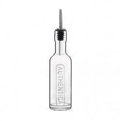 Aceitera vidrio dosificador 0,25 l transparente