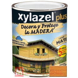 Barniz para madera 750 ml roble xylazel plus mate