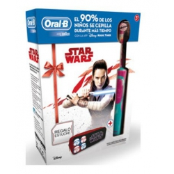 Cepillo dental braun oral-b star wars con estuche