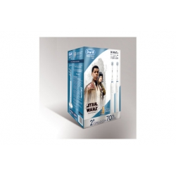 Cepillo dental braun oral-b duo con usb star wars