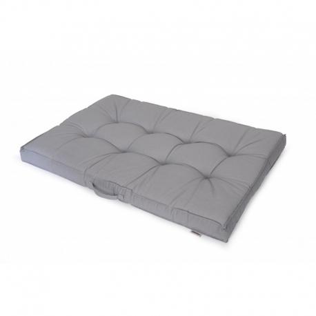 Cojin para palet gris 120x80x10 cm