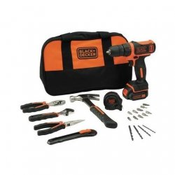 Taladro bateria black&decker 10,8 v 1.5ah kit