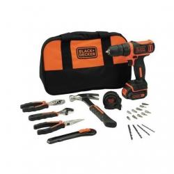 Taladro bateria black&decker 10,8 v 1.5ah kit