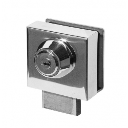 Cierre lyf l-302 para puertas de cristal llave tubular
