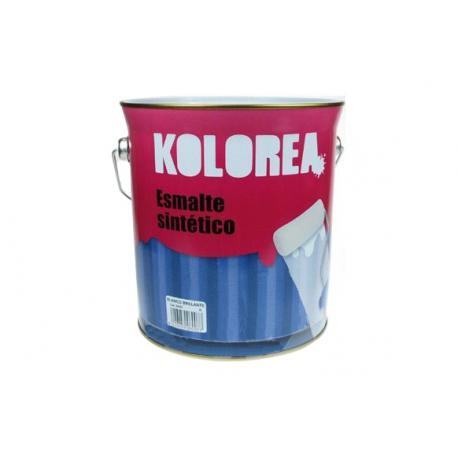 Esmalte brillante kolorea 4 litros ocre