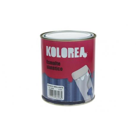 Esmalte brillante kolorea 750 ml gris medio