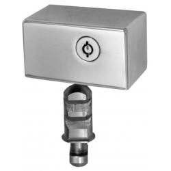 Cierre lyf t-40 para puertas metalicas enrollables llave tubular