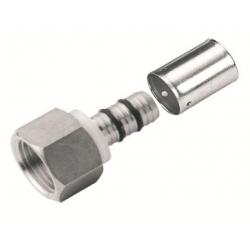 Manguito hembra press fitting serie 6702u 25x3/4