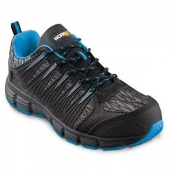Zapato seguridad workfit trail azul talla 37