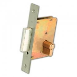 Cerradura ezcurra 4200-cromo/9 embutir madera llave