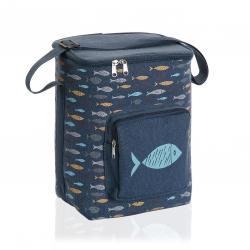 Nevera flexible lunch bag blue bay 15 litros