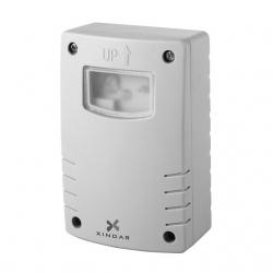 Detector crepuscular xindar dia y noche con interruptor programable