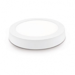 Downlight led superficie matel 12w luz fria blanco