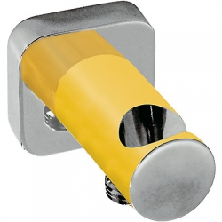 Soporte ducha tres exclusive toma pared amarillo 200.182.01.am