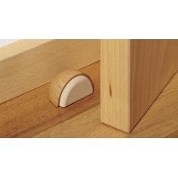 Tope puerta madera roble adhesivo 2039-3a