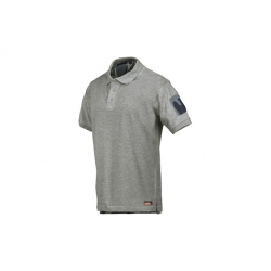 Polo starter m/corta mimetizado gris ts