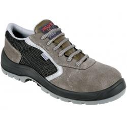 Zapato de seguridad panter cauro oxigeno gris s1p talla t-37